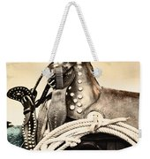 Saddle Weekender Tote Bag
