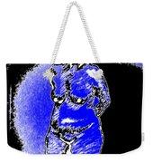 Safe Blue Woman Weekender Tote Bag