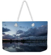 Safe Harbor After The Storm Weekender Tote Bag by Georgia Mizuleva