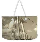 Safe Harbor At Sunset Weekender Tote Bag
