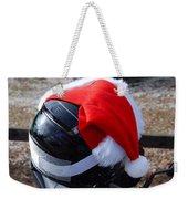 Safety First Santa Weekender Tote Bag