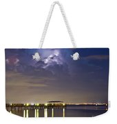 Safety Harbor Pier Weekender Tote Bag