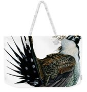 Sage Grouse  Weekender Tote Bag by Anonymous