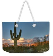 Saguaro At Sunset Weekender Tote Bag