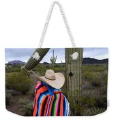 Saguaro Cactus The Visitor 1 Weekender Tote Bag