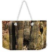 Saguaro Of Many Arms Weekender Tote Bag