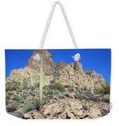 Saguaro On The Apache Trail Weekender Tote Bag