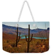 Saguaros In Arizona Weekender Tote Bag