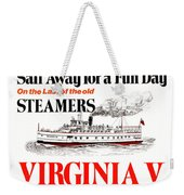 Sail Away For A Fun Day Weekender Tote Bag