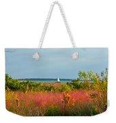 Sail Boat Honeymoon Island Weekender Tote Bag