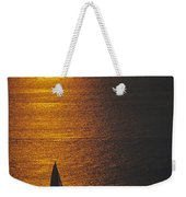 Sail Boat On Puget Sound Weekender Tote Bag