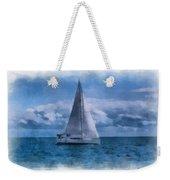 Sail Boat Photo Art 01 Weekender Tote Bag