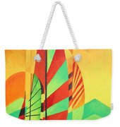Sail To Shore Weekender Tote Bag by Tracey Harrington-Simpson