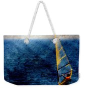 Sailboarding W Metal Weekender Tote Bag