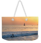 Sailboats And Surfers Weekender Tote Bag