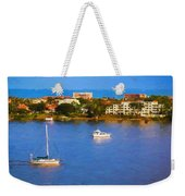 Sailboat In Holly Hill Weekender Tote Bag