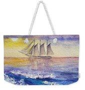 Sailboat In The Ocean Weekender Tote Bag