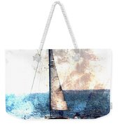 Sailboat Light W Metal Weekender Tote Bag