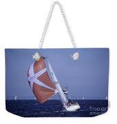 Sailboat Race On Puget Sound Weekender Tote Bag