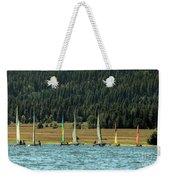 Sailboat Regatta Cascade Lake Weekender Tote Bag
