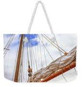 Sailboat Rigging Weekender Tote Bag