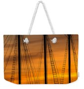 Sailboat Sunrise Weekender Tote Bag