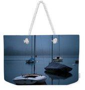 Sailboats At Dawn Weekender Tote Bag