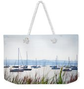 Sailboats At Rest Weekender Tote Bag by Bill Cannon