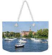Sailboats By Charles Carroll House Weekender Tote Bag