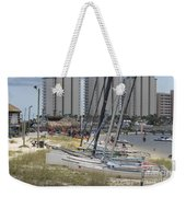 Sailboats For Playtime Weekender Tote Bag