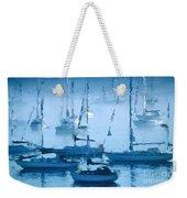 Sailboats In The Fog II Weekender Tote Bag