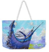 Sailfish Football Off0030 Weekender Tote Bag by Carey Chen