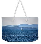 Sailing Amidst The Buoys Weekender Tote Bag