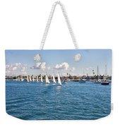 Sailing Weekender Tote Bag by Angela A Stanton