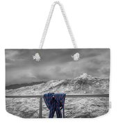 Sailing Around South West Cape Of Tasmania Weekender Tote Bag