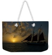 Sailing At Dusk Weekender Tote Bag