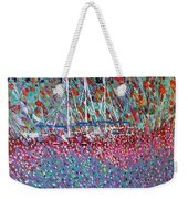 Sailing Among The Flowers Weekender Tote Bag