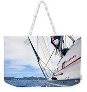 Sailing Bvi Weekender Tote Bag by Adam Romanowicz