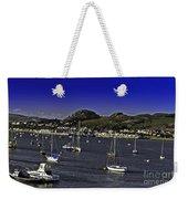 Sailing Conwy Harbor Weekender Tote Bag