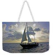Sailing In Aruba Weekender Tote Bag