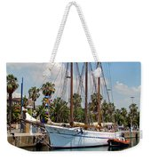 Sailing In Barcelona Weekender Tote Bag