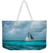 Sailing In Blue Belize Weekender Tote Bag