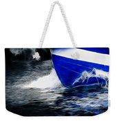Sailing In Blue Weekender Tote Bag