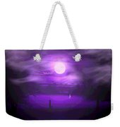 Sailing In The Moonlight Weekender Tote Bag