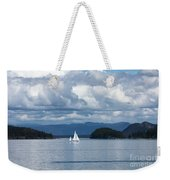 Sailing In The San Juans Weekender Tote Bag