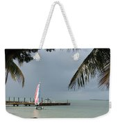 Sailing Key Largo Weekender Tote Bag