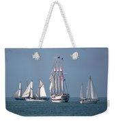 Sailing Lake Erie Weekender Tote Bag