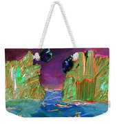 Sailing On Beta Antares 3 Weekender Tote Bag