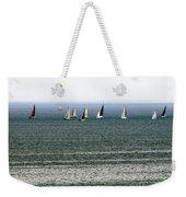 Sailing On Lake Erie Weekender Tote Bag