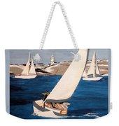Sailing On San Francisco Bay Weekender Tote Bag